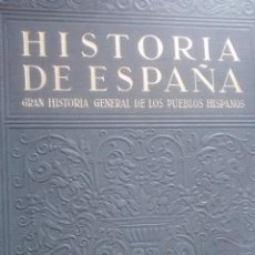 Libros de segunda mano: HISTORIA DE ESPAÑA ( 5 TOMOS ) / LUIS PERICOT GARCÍA / 2ª EDICIÓN 1942 / INSTITUTO GALLACH. Lote 49863913