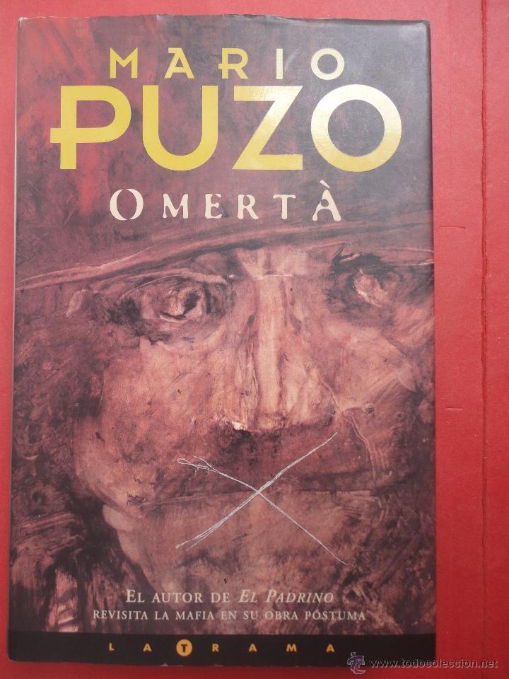 PUZO. OMERTA. TAPA DURA (Libros de Segunda Mano (posteriores a 1936) - Literatura - Otros)