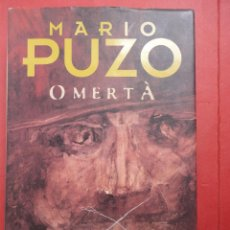 Libros de segunda mano: PUZO. OMERTA. TAPA DURA. Lote 49877075