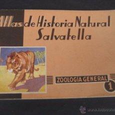 Libros de segunda mano: ZOOLOGIA GENERAL. ATLAS DE HISTORIA NATURAL. SAVATELLA 1ª EDICION 1949. Lote 49879759