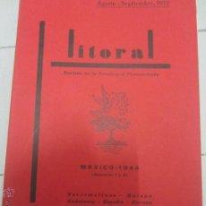 Libros de segunda mano: LITORAL 31-32. Lote 49884884