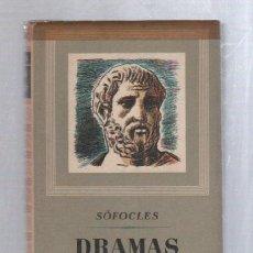 Libros de segunda mano: DRAMAS Y TRAGEDIAS DE SOFOCLES. OBRAS MAESTRAS DE EDITORIAL IBERIA.. Lote 49891404