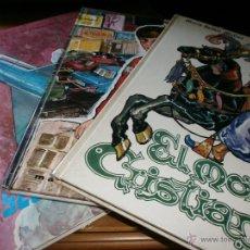 Libros de segunda mano: LOTE 3 EJEMPLARES EDITORIAL MARFIL - EL MORO CRISTIANO, SECUESTRO AÉREO Y UN CONCURSO EN TELEVISIÓN. Lote 49909624