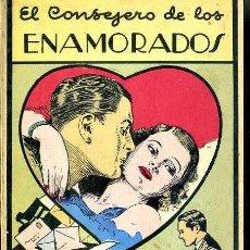 Libros de segunda mano: EL CONSEJERO DE LOS ENAMORADOS (MÉXICO, 1964). Lote 49911159