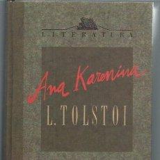 Libros de segunda mano: LIEV TOLSTOI, ANA KARENINA, ORBIS FABBRI BARCELONA 1990, TRADUCCIÓN CEDIDA POR AGUILAR. Lote 49915016