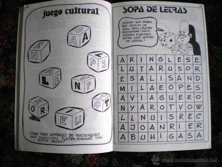 Libros de segunda mano: Diversión y pasatiempos para jóvenes 1985 nuevos lote 6 folletos - Foto 2 - 49924400