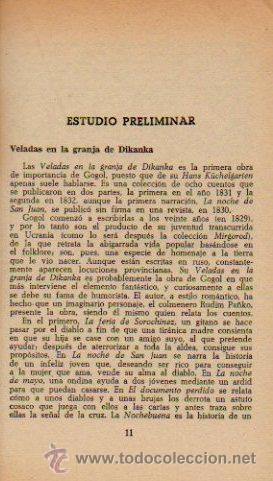 Libros de segunda mano: CUENTOS COMPLETOS - NICOLAI GOGOL. LIBRO CLÁSICO. EDITORIAL BRUGUERA, 1970 - Foto 4 - 49940040