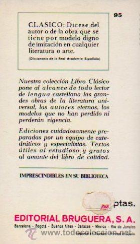 Libros de segunda mano: CUENTOS COMPLETOS - NICOLAI GOGOL. LIBRO CLÁSICO. EDITORIAL BRUGUERA, 1970 - Foto 5 - 49940040