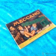 Libros de segunda mano: MECCANO, MANUAL DE INSTRUCCIONES 1958. Lote 49949321