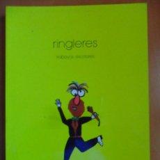 Libros de segunda mano: RINGLERES. TRABAYOS ESCOLARES. ESCOLIN, ACADEMIA DE LA LLINGUA ASTURIANA, UVIEU 1988. RUSTICA. 131 P. Lote 49950142