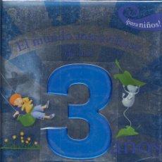 Libros de segunda mano: LIBRO INFANTIL EL MUNDO MARAVILLOSO DE MIS 3 AÑOS PARA NIÑOS AÑO 2008 64 PAG ----------(REF M1 E1). Lote 49966354