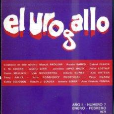 Libros de segunda mano: REVISTA LITERARIA EL UROGALLO Nº 7 - ENERO FEB. 1971. Lote 49991363