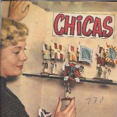 Libros de segunda mano: CHICAS. 2ª ÉPOCA. Nº278. 1956. Lote 49994791