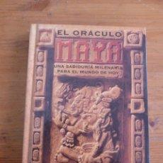 Libros de segunda mano: EL ORACULO MAYA. UNA SABIDURIA MILENARIA PARA EL MUNDO DE HOY. L.BONEWITZ. ED. EDAF 2001 142 PAG . Lote 50037247
