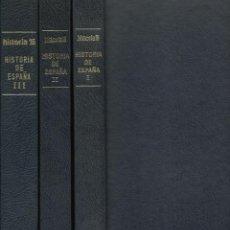 Libros de segunda mano: HISTORIA DE ESPAÑA, DE HISTORIA16. 13 NÚMEROS ENCUADERNADOS EN 3 TOMOS. VARIOS AUTORES. (1980-83). Lote 50040158