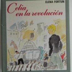 Libros de segunda mano: CELIA EN LA REVOLUCIÓN ELENA FORTÚN LIBRO INFANTIL JUVENIL ILUSTRADO GUERRA CIVIL ESPAÑOLA HISTORIA. Lote 109075692