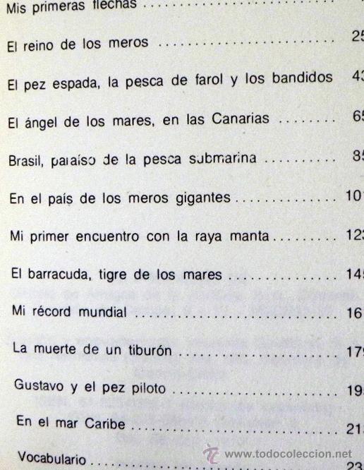 Libros de segunda mano: LOTE 30 SIGLOS BAJO EL MAR / CAZA GRANDES PECES MONSTRUOS MARINOS LIBROS ARQUEOLOGÍA BIOLOGÍA LIBRO - Foto 2 - 50055349
