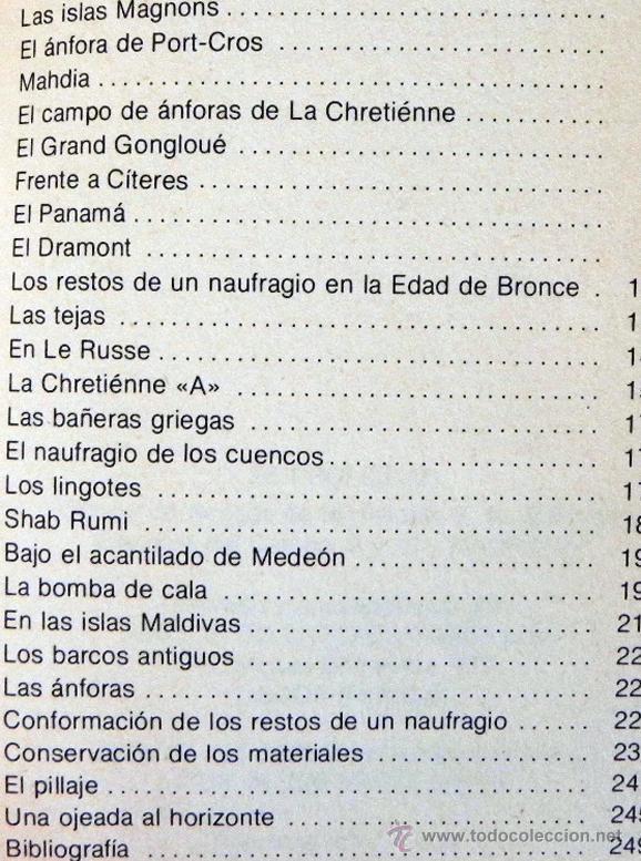 Libros de segunda mano: LOTE 30 SIGLOS BAJO EL MAR / CAZA GRANDES PECES MONSTRUOS MARINOS LIBROS ARQUEOLOGÍA BIOLOGÍA LIBRO - Foto 4 - 50055349