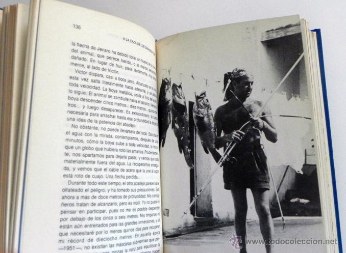 Libros de segunda mano: LOTE 30 SIGLOS BAJO EL MAR / CAZA GRANDES PECES MONSTRUOS MARINOS LIBROS ARQUEOLOGÍA BIOLOGÍA LIBRO - Foto 8 - 50055349