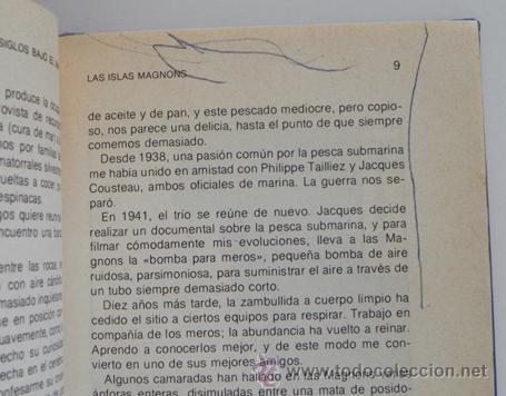 Libros de segunda mano: LOTE 30 SIGLOS BAJO EL MAR / CAZA GRANDES PECES MONSTRUOS MARINOS LIBROS ARQUEOLOGÍA BIOLOGÍA LIBRO - Foto 11 - 50055349