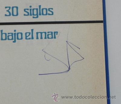 Libros de segunda mano: LOTE 30 SIGLOS BAJO EL MAR / CAZA GRANDES PECES MONSTRUOS MARINOS LIBROS ARQUEOLOGÍA BIOLOGÍA LIBRO - Foto 12 - 50055349