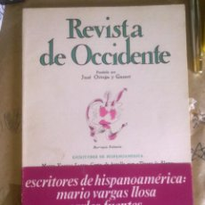 Libros de segunda mano: REVISTA DE OCCIDENTE - . Lote 50069522