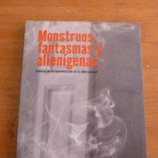 Libros de segunda mano: MONSTRUOS, FANTASMAS Y ALIENIGENAS FUNDACION TELEFONICA MADRID 2005 118PAG. Lote 50070997