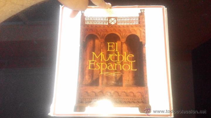 Libro Historia Del Mueble Español,Feduchi,original,muchas Ilustraciones,es  El De Las Fotos