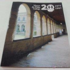 Libros de segunda mano: MUSEO DO POBO GALEGO-1977-1997 - 2186 451. Lote 50091626