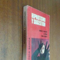 Libros de segunda mano: HIPNOTISMO Y SUGESTIÓN / R. HERVÁS / BIBLIOTECA BÁSICA - ED. BRUGUERA 1ª EDICIÓN 1973. Lote 50092413