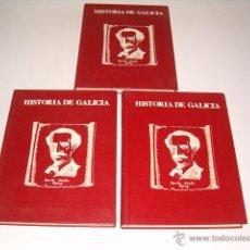 Libros de segunda mano: BENITO VICETTO PÉREZ. HISTORIA DE GALICIA. TRES TOMOS. RM69829. . Lote 50116670
