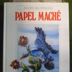 Libri di seconda mano: MANUALIDADES. ESCUELA DE ARTESANIA. PAPEL MACHÉ. QUORUM. Lote 50123879