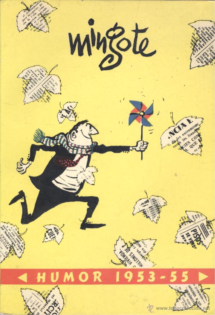 MINGOTE. HUMOR 1953-55. MADRID, 1956. (Libros de Segunda Mano - Bellas artes, ocio y coleccionismo - Otros)