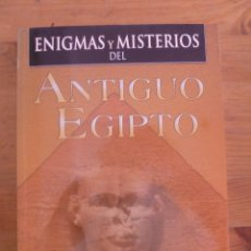 Libros de segunda mano: ENIGMAS Y MISTERIOS DEL ANTIGUO EGIPTO. JUSTINO BALBOA. ED. ALBOR 2013 191 PAG. Lote 50163080