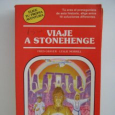 Libros de segunda mano: ELIGE TU PROPIA AVENTURA - VIAJE A STONEHENGE Nº 30 - TINUM MAS. Lote 50190797