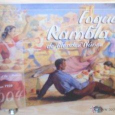 Libros de segunda mano: FOGUERA RAMBLA DE MÉNDEZ NÚÑEZ·· 2004 ·· HOGUERAS ·· ALICANTE. Lote 50219451