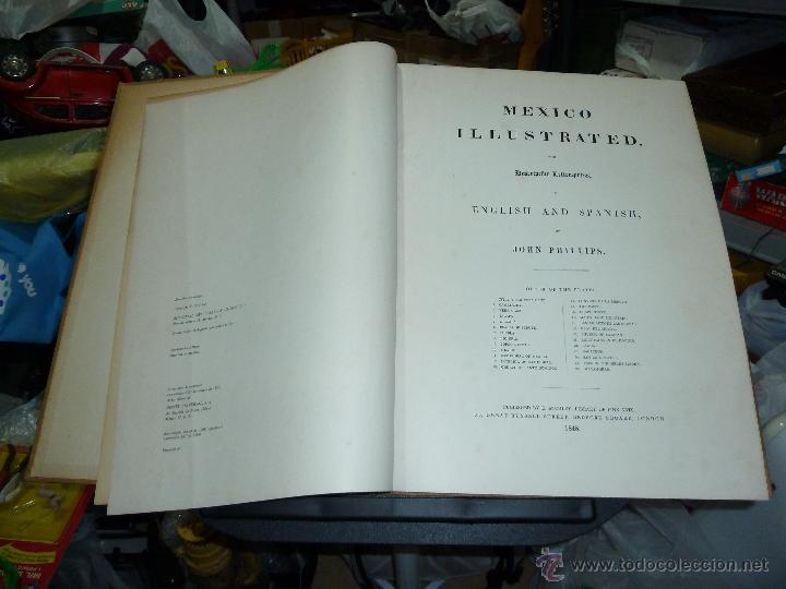 Libros de segunda mano: MEXICO ILUSTRADO POR JOHN PHILLIPS EDITORIAL DEL VALLE DE MEXICO 1972 - Foto 12 - 50230966