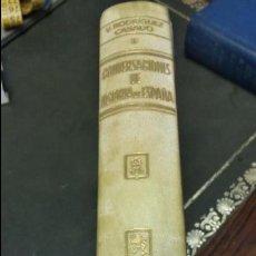 Libros de segunda mano: CONVERSACIONES DE LA HISTORIA DE ESPAÑA TOMO I -1 EDICIÓN 1963 - VICENTE RODRIGUEZ CASADO. Lote 50260205