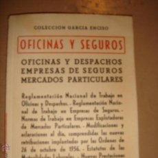 Libros de segunda mano: OFICINAS Y SEGUROS OFICINAS Y DESPACHOS, EMPRESAS DE SEGUROS, MERCADOS PARTICULARES . Lote 46792163