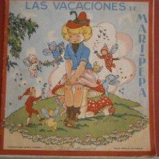 Libros de segunda mano: LAS VACACIONES DE MARI-PEPA. EMILIA COTARELO. Lote 50292313