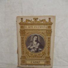 Libros de segunda mano: EL ARTE EN ESPAÑA - MUSEO DE BELLAS ARTES DE CADIZ Nº 27. Lote 50362257
