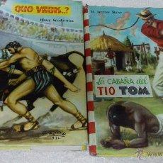 Libros de segunda mano: COLECCIÓN FELICIDAD (IMPRESOS EN 1960 ). 2 TÍTULOS.. Lote 50371501