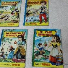 Libros de segunda mano - 4 libros de la colección para la infancia. Editorial Bruguera S.A. - 50371843