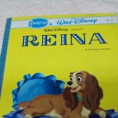 Libros de segunda mano: ALEGRÍAS DE WALT DISNEY. REINA. Nº 9. Lote 50374280