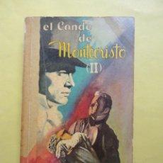 Libros de segunda mano: EL CONDE DE MONTECRISTO II. ALEJANDRO DUMAS. 1965. Lote 50387443