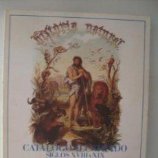 Libros de segunda mano: HISTORIA NATURAL. CATÁLOGO ILUSTRADO. SIGLOS XVIII Y XIX (CSIC 1988). ILUSTR. COLOR ¡ÚNICO EN TC!. Lote 50391073