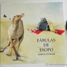 Libros de segunda mano: FÁBULAS DE ESOPO LISBETH ZWERGER PREMIO CH ANDERSEN (EL NOBEL LITER. INFANTIL ) PRECIOSA ILUSTRACIÓN. Lote 50404451