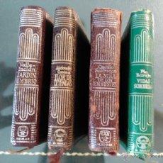 Libros de segunda mano: LA NIÑA DE LOS EMBUSTES,JARDÍN UMBRÍO,FLOR DE LEYENDAS,VIDAS SOMBRÍAS,CRISOL.SERIE EXTRA.CRISOLIN. Lote 50409136