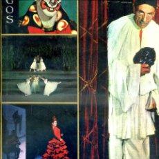 Libros de segunda mano: TEATRO, CIRCO Y MUSIC HALL (ARGOS, 1967) PRÓLOGO DE JOSÉ MARÍA PEMÁN - GRAN FORMATO. Lote 50441120