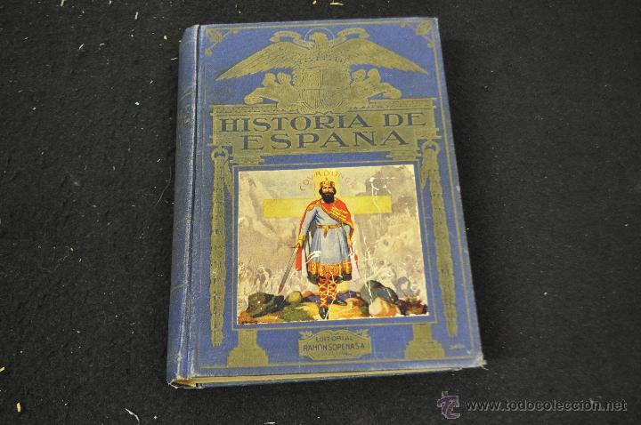 HISTORIA DE ESPAÑA -AGUSTIN BLÁNQUEZ FRAILE - EDITORIAL SOPENA 1943 (Libros de Segunda Mano - Historia - Otros)